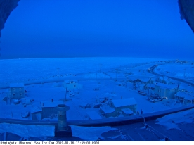 Sea ice web cam from Barrow
